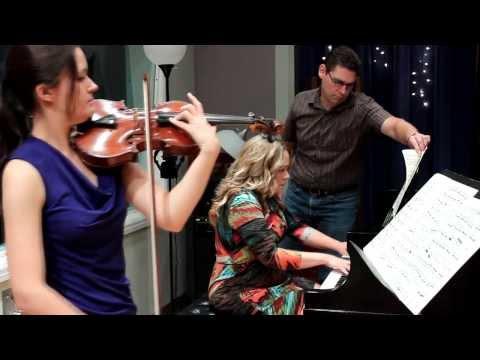 Véronique Mathieu & Ellen Bottorff Perform Debussy's Sonata for Violin and Piano in G Minor