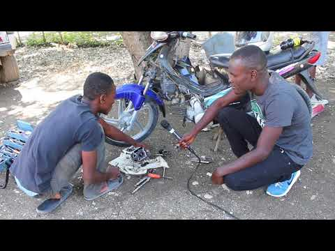 Motorcycle Repair Today in Haiti