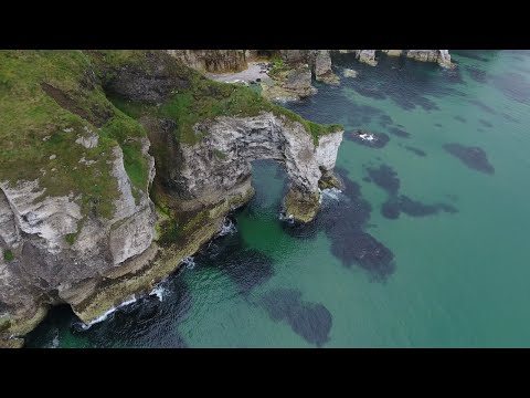 Northern Ireland Coast in 4K
