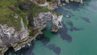 Northern Ireland Coast in 4K