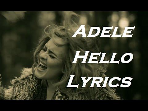 Adele - Hello | Lyrics | HD