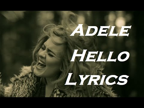 Adele  Hello  Lyrics  HD