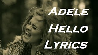 Video Adele - Hello | Lyrics | HD download MP3, 3GP, MP4, WEBM, AVI, FLV November 2018