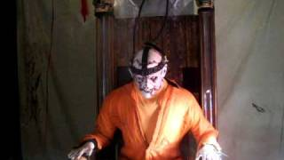 Halloween Electric Chair Prop
