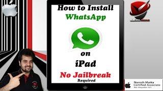 iPad WhatsApp   How to Install Whatsapp on iPad   No Jailbreak Required