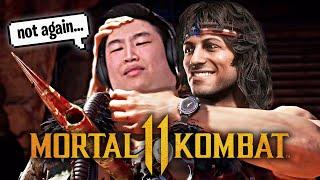 IL GIOCATORE DI RAMBO PSICO NON MI MOSTRA PIETÀ !! - Mortal Kombat 11