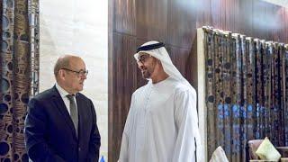 وزير الخارجية الفرنسي يدعو دول الخليج إلى