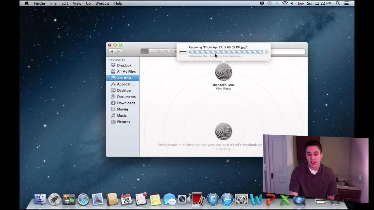 Airdrop Tutorial  Sharing Files