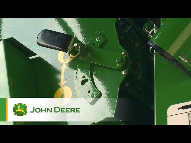 John Deere - Série S - Changement de culture