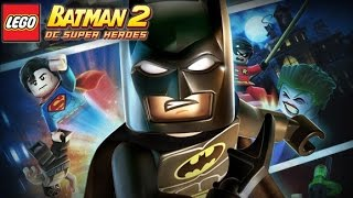 LEGO Batman 2: DC Super Heroes All Cutscenes (Game Movie) 1080p HD