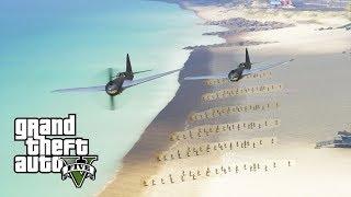 GTA 5 - Military ARMY Patrol #47 - DUNKIRK (Saving Los Santos!)