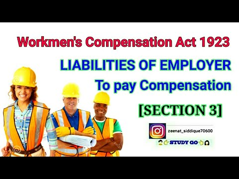 Workmen's Compensation Act 1923   SECTION 3   EMPLOYER'S LIABILITIES TO PAY COMPENSATION TO WORKMEN