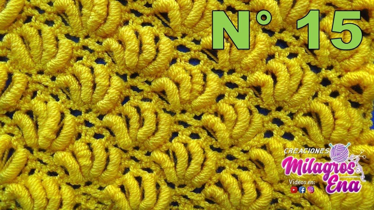 Punto crochet abanicos de rococo especial para cobijas de - Mantas con fotos ...
