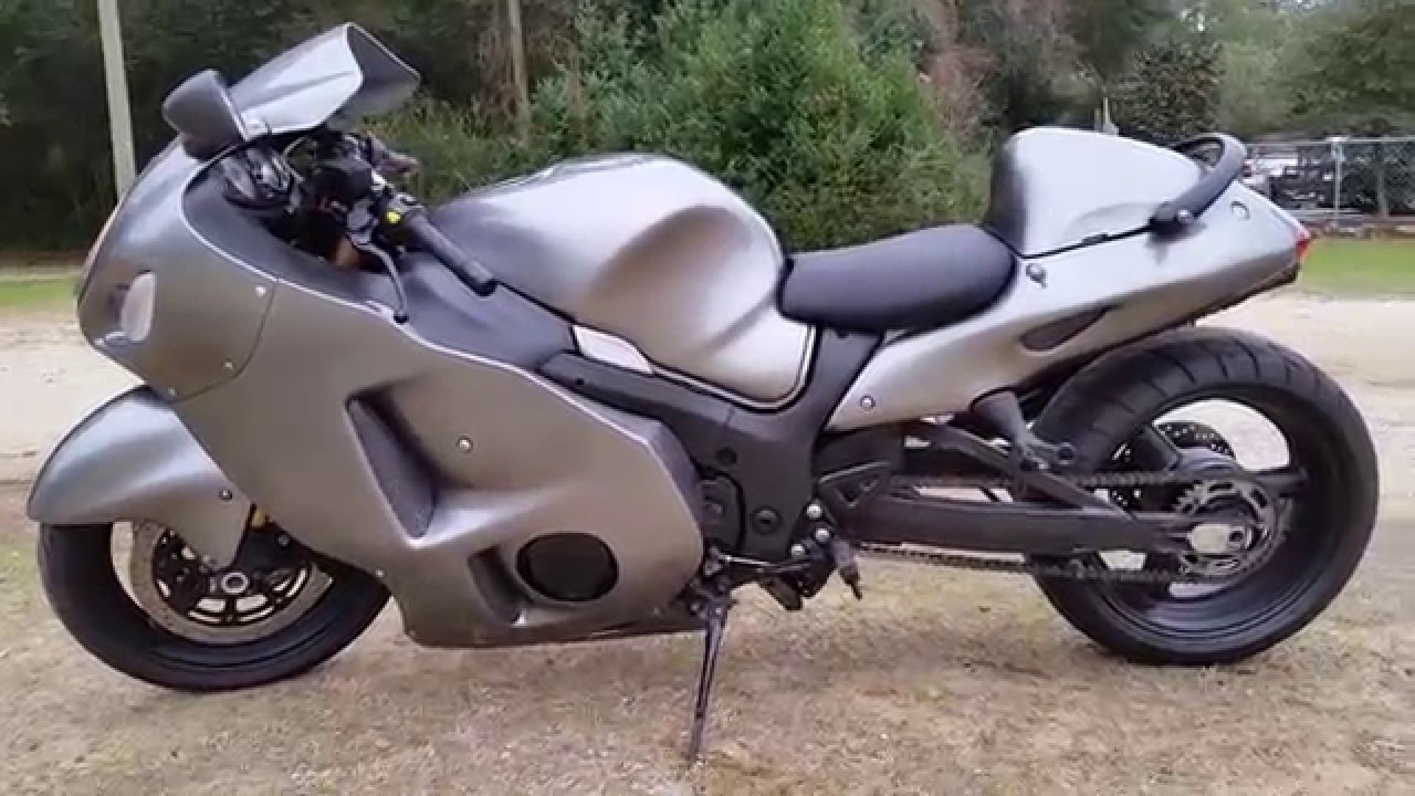 2005 Suzuki Hayabusa Stretched And Lowered Youtube