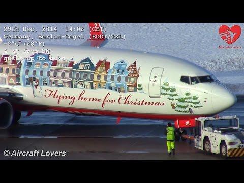 Flying Home For Christmas 2014 - Air Berlin Boeing 737 @ Germany, Berlin-Tegel 29.12.14