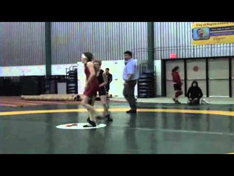 2009 Junior National Championships: 51 kg Emily Weeks vs. Sam Stewart