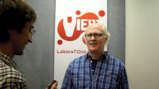 Scott Farrar Joking @ ViewConference 2011 - Webradio Improntadigitale