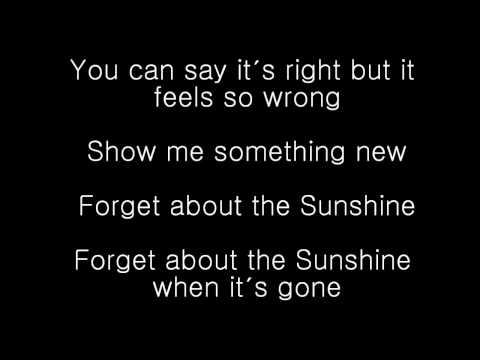 The All-American Rejects Sunshine-Lyric