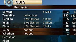 Sachin Tendulkar's 163 vs NZ New Zealand vs India 3rd ODI 2009 1080p Highlights