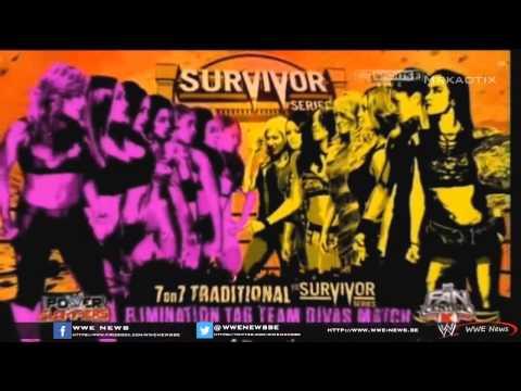 WWE Survivor Series 2013 Full Match Card