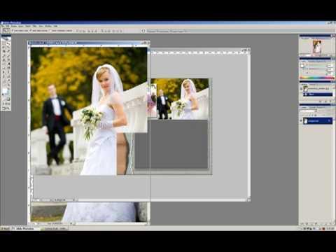 wedding album template tutorial youtube