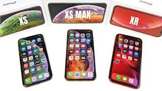 iPhone XS vs iPhone XS Max vs iPhone XR?