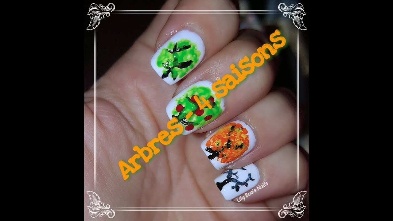 Nail art 4 saisons