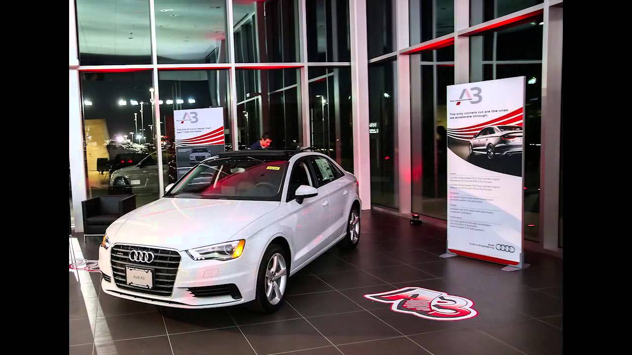 The NEW 2014 Audi A3 Launch Event at Audi Shrewsbury - YouTube