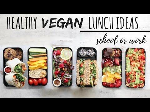 VEGAN SCHOOL LUNCH IDEAS » healthy + easy (bento box)