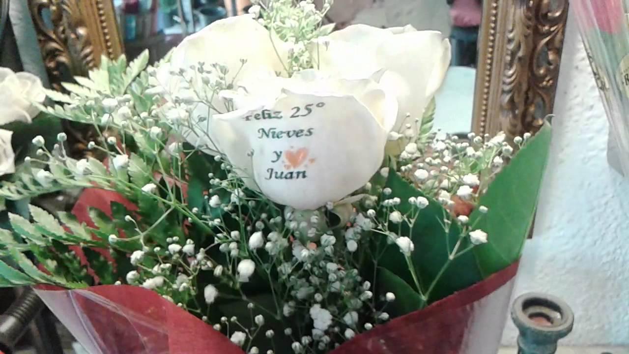 Flores Para Aniversario De Plata