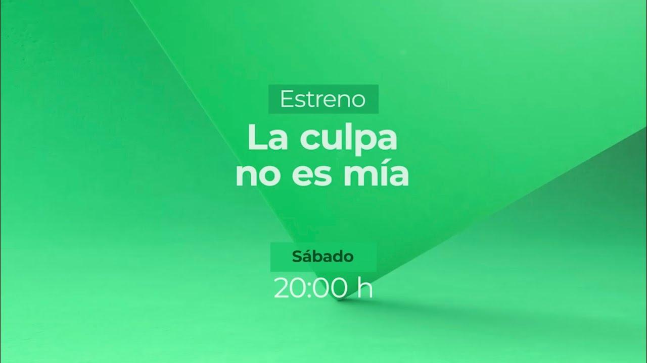 Llegó el día. Hoy 8pm no se pierdan el estreno de la serie #LaCulpaNoEsMia
