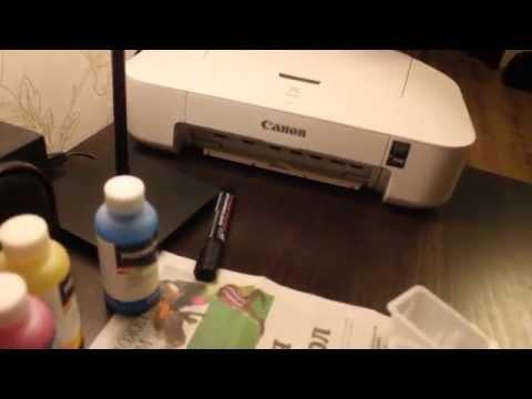 Заправка картриджа для принтера Canon Pixma IP 2840