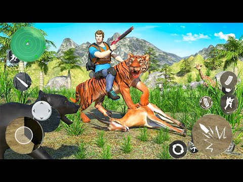 Lost Island Jungle Adventure Hunting Game - Android GamePlay - Hunting Games Android