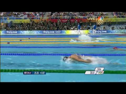 4th Gold [2008 Beijing Olympics] Swimming Men's 200m Butterfly.mp4