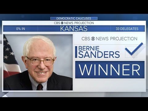Bernie Sanders wins Kansas Democratic Caucus