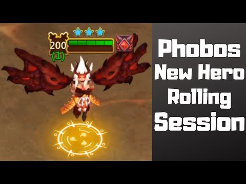 Phobos | New Hero | Rolling Session | Castle Clash