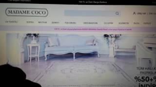 Madame Coco интернет-магазин. Как найти в Турции. Ассортимент текстиля.