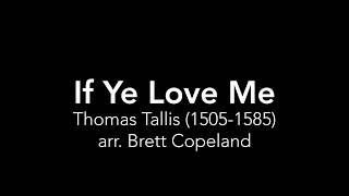 If Ye Love Me - Thomas Tallis for tuba quartet (arr. Brett Copeland)