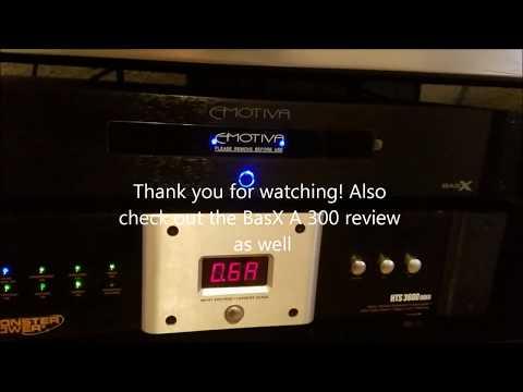 Emotiva BasX A-150 power amplifier review