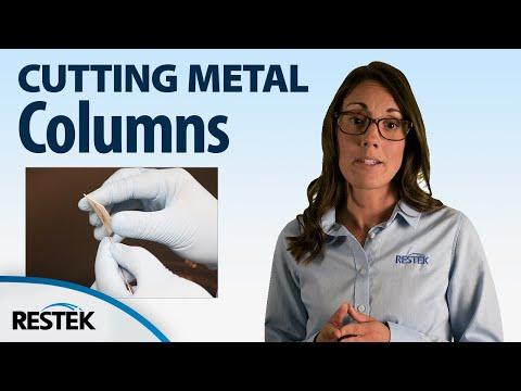How to Cut a Metal Capillary GC Column