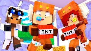 Minecraft Daycare - WHO'S YOUR DADDY? W/ MOOSECRAFT (Minecraft Kids Roleplay)