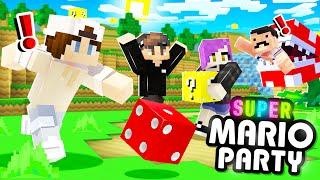 *SUPER* MARIO PARTY in MINECRAFT?!