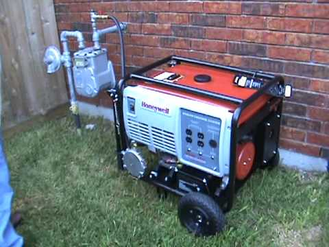 Part 2 Generator Conversion Natural Gas Test