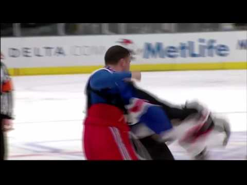 Mike Mottau vs Sean Avery Oct 22, 2009