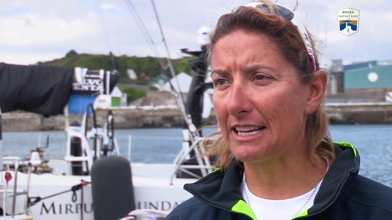 Rolex Fastnet Race 2017 - Dee Caffari - Turn the Tide on Plastic