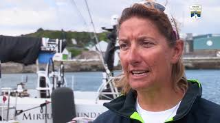 Rolex Fastnet Race 2017 - Dee Caffari - Turn the Tide on Plastic