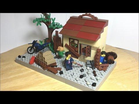 Лего Самоделка на тему Маньяк! Побег от Маньяка!