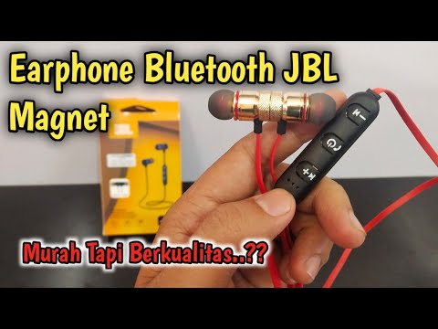 Earphone Bluetooth JBL Magnet, Murah tapi Berkualitas..?? #Review