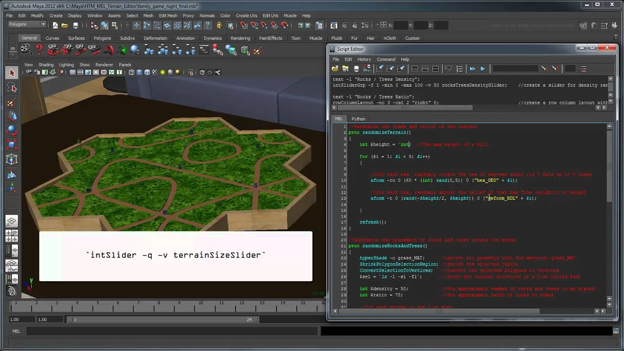 Creating Procedural Terrain Part 3: Ui Development With Qt Creator Maya  Tutorial General Puter Graphics