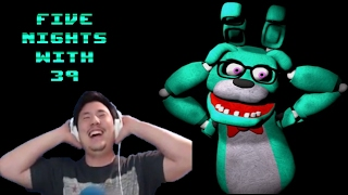 Most HILARIOUS FNAF Parody Game EVER MADE! - Five Nights With 39 (Nights 1 - 5 COMPLETED + Night 6)